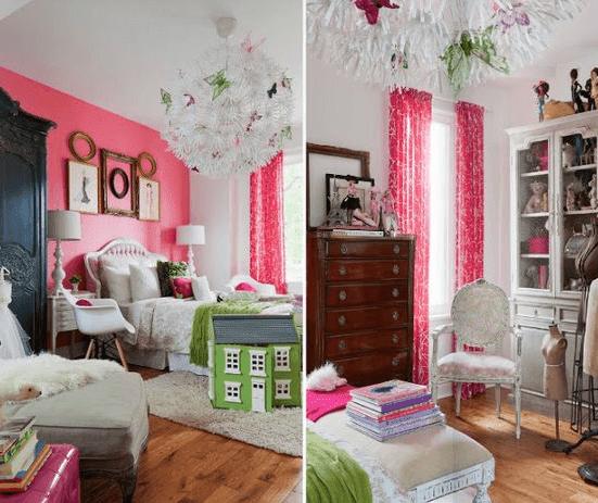 kamar tidur anak perempuan ukuran 3x3