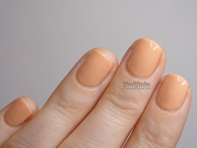 Hean 872 nail polish swatch, recenzja lakieru Hean 872