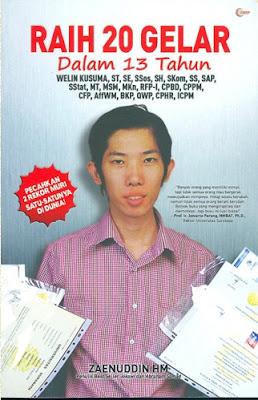 Welin Kusuma, Raih 20 Gelar dalam 13 Tahun