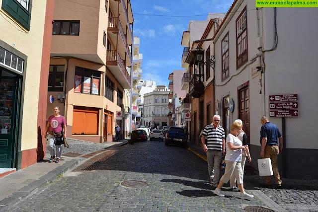 Nueva reunión de la comisión informativa de seguimiento de las obras de urbanización de la Zona Comercial Abierta de Santa Cruz de La Palma