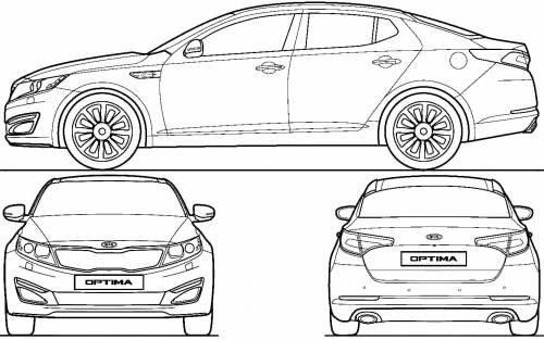 Am'z CamPro: [Gambar&Spesifikasi] Kia Optima K5