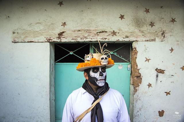 Catrín en el día de muertos en Oaxaca