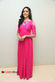 Actress Ritu Varma Stills in Pink Dress at Pelli Choopulu 100 Days Function .COM 0177.JPG