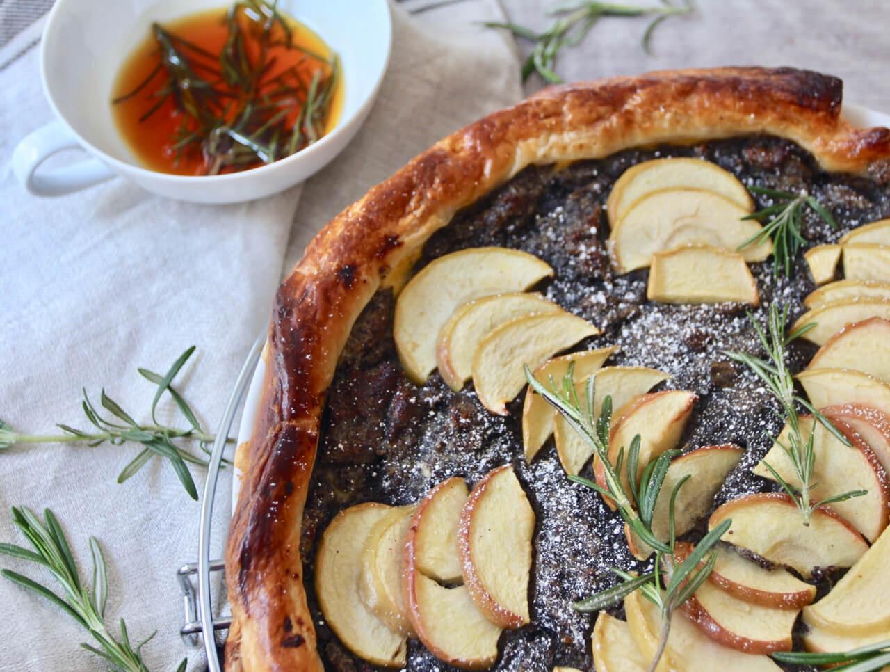 Rezept Apfel-Mohn-Tarte