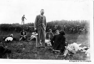 La Chaise Dieu, déjeuner sur l'herbe, 1931.