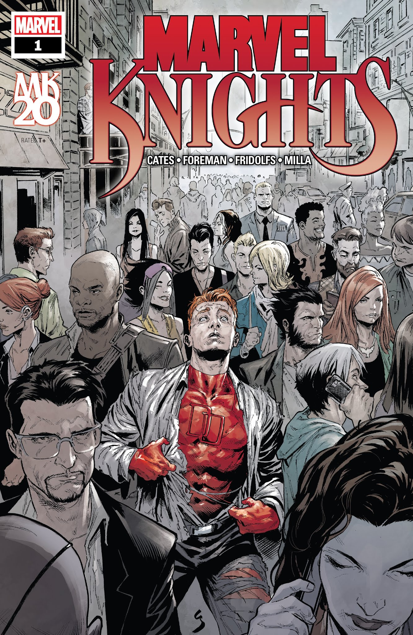 Marvel Knights: 20th 1 Page 1