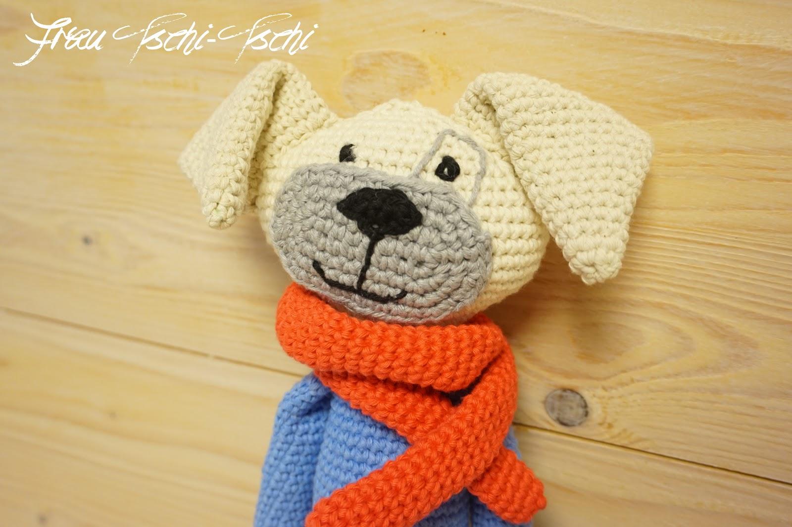 Frau Tschi-Tschi: Amigurumi dog - crochet pattern free