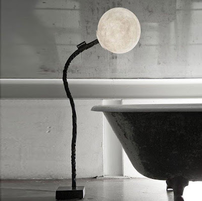 Micro Moon Floor Lamp