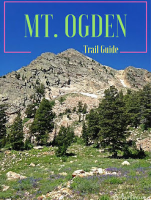 Hiking to Mt. Ogden, Snowbasin