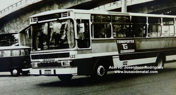Transportes Guanabara e seu ônibus de carroceria Condor