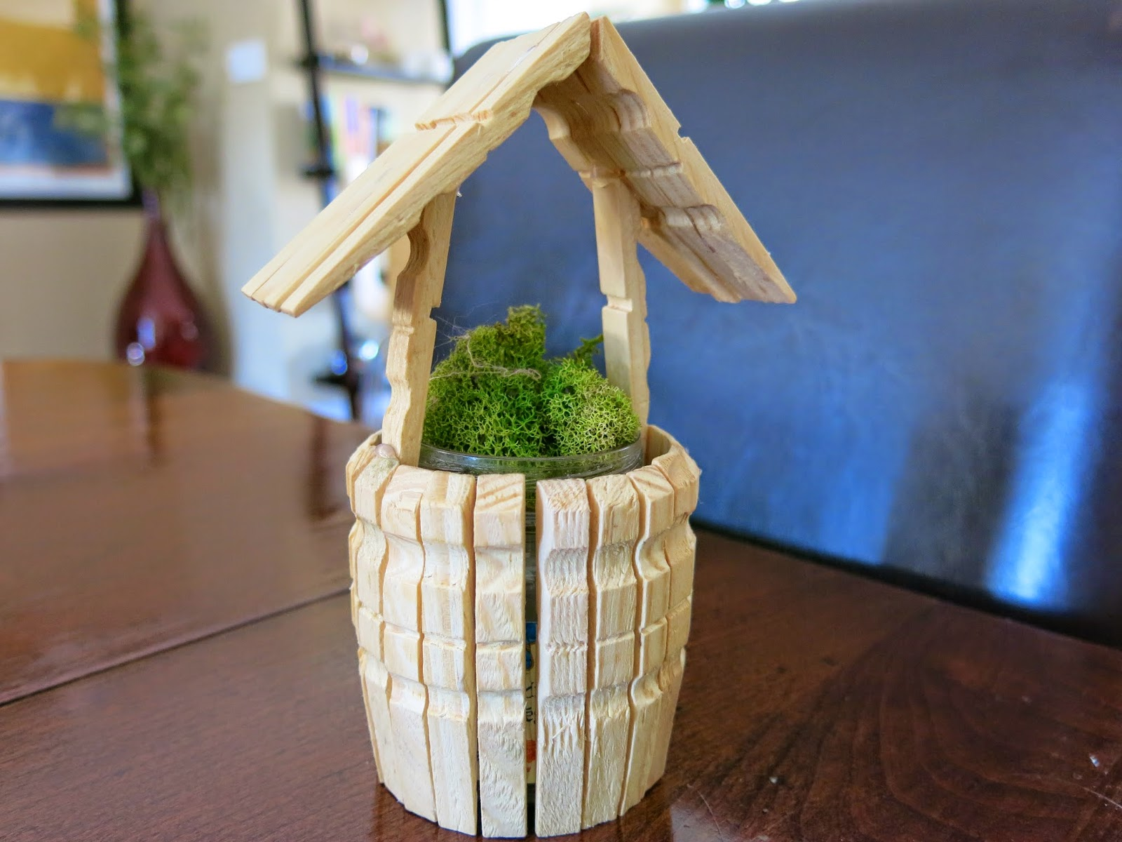 Caker Cooking: Clothespin Wishing Well