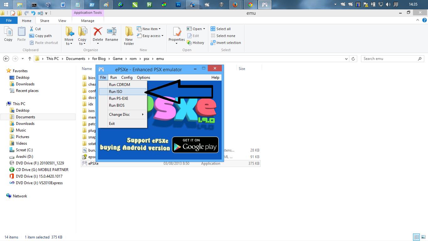 emulator PS1 Android Terbaik ePSXe 19 Bios dan Plugin