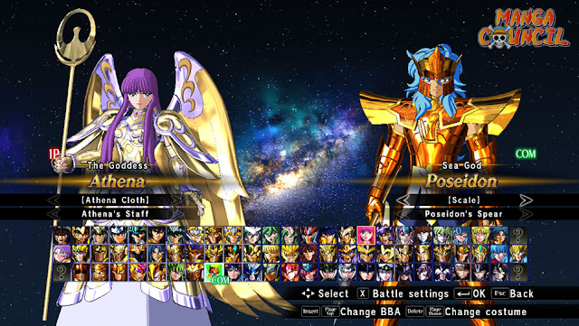 Saint Seiya Soldiers Soul All Characters