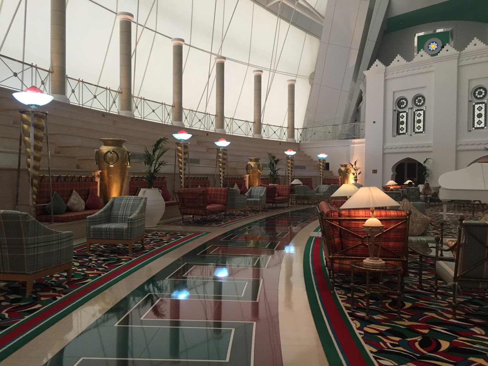 Burj Al Arab Review - The Room - Vegan Dubai Travel Spa
