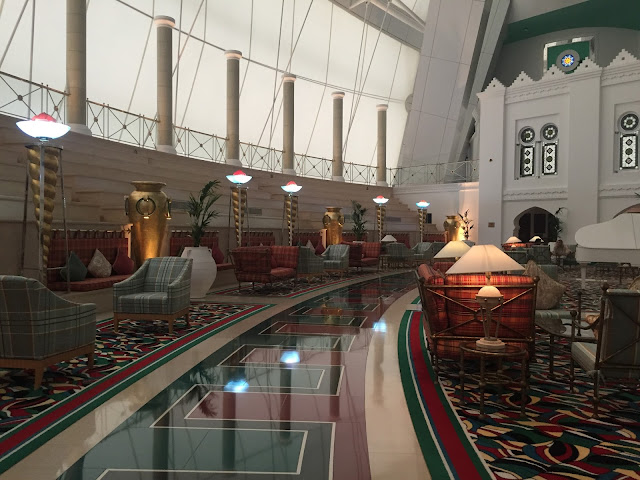 Burj Al Arab Review - The Room - Vegan Dubai Travel Spa