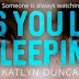 Cover Reveal -  As You Lay Sleeping by Katlyn Duncan