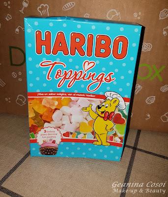 Haribo Toppings Caja Degustabox Mayo 2016