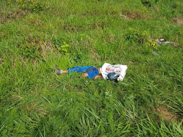 Motociclista morre ao bater de frente com carro na BR 364