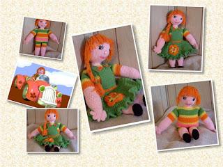 crochet amigurumi dressable doll liza beth