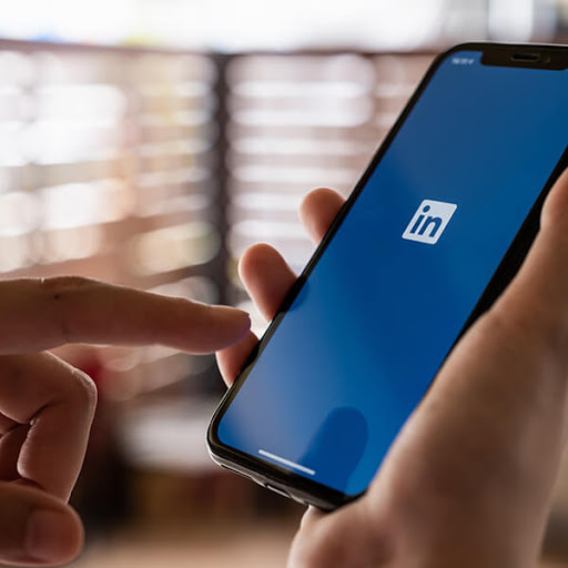 using LinkedIn on a phone