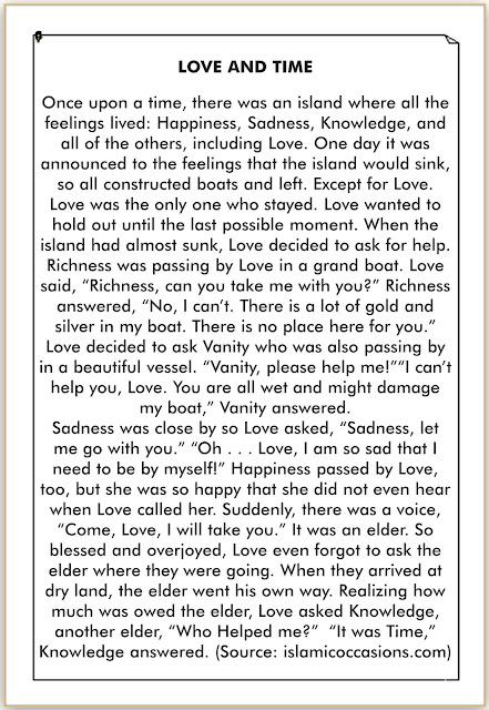 Cerita Berbahasa Inggris tentang Cinta