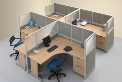 desain tempat kerja karyawan