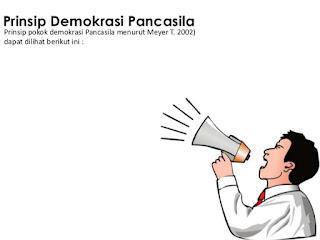 Sebutkan dan Jelaskan Prinsip Prinsip Demokrasi Pancasila