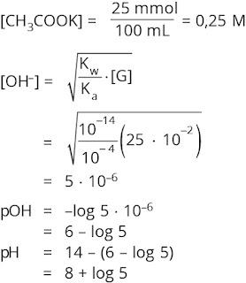 Pembahasan soal hidrolisis garam nomor 4
