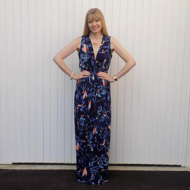 Onjenu printed maxi dress