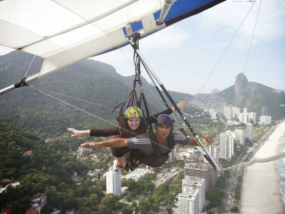 Wanderlust Chloe - Chloe Gunning - Hang Gliding Rio De Janeiro