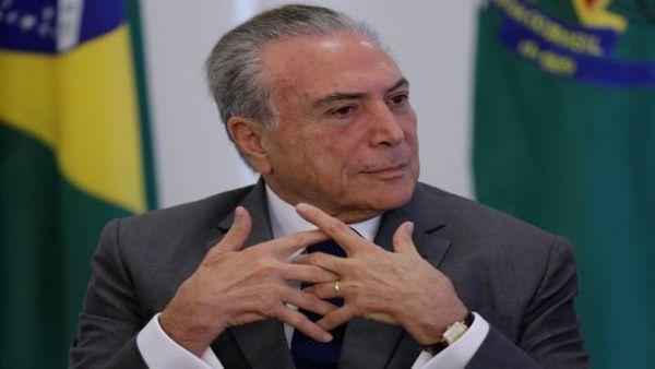 """""""Con o sin protestas"""" Temer aplicará sus reformas en Brasil"""