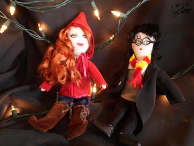 Muñecos de tela: Ropa de Scarlet
