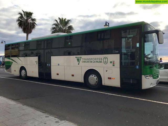 La Consejería de Obras Públicas, Transportes y Vivienda reparte 47,5 millones de euros entre los cabildos para subvencionar el transporte por carretera