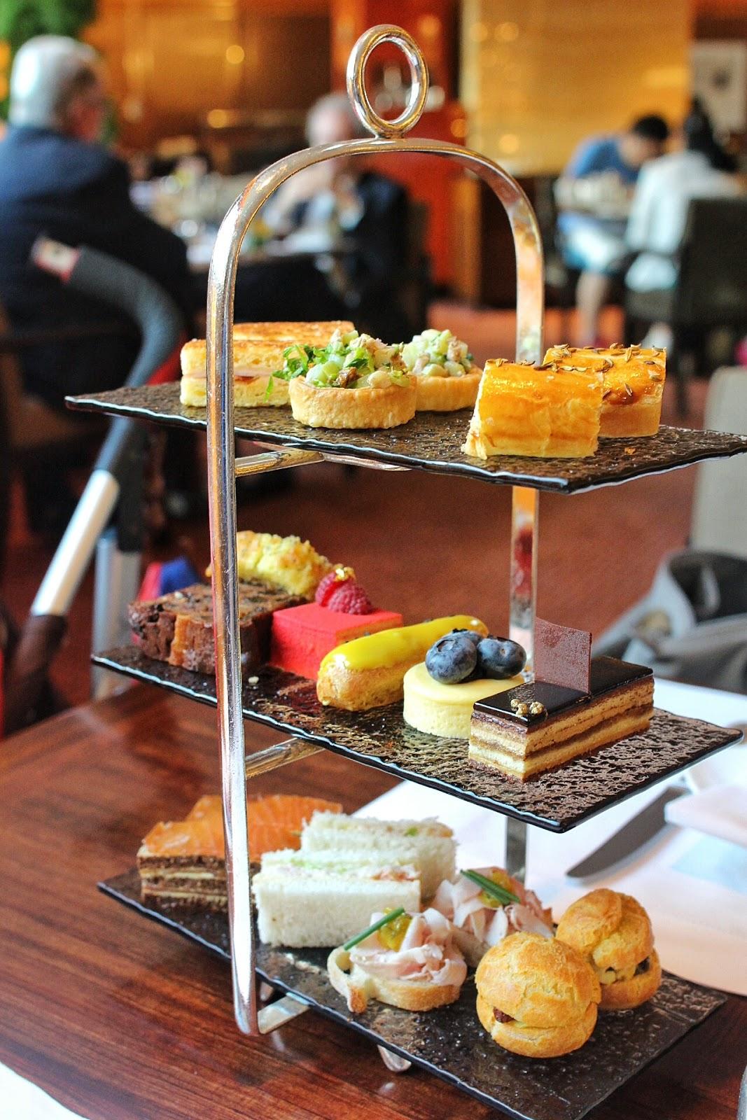 味遊英倫 ♚ 香港文華酒店 Clipper Lounge ♚ 傳統風味下午茶 - - SeeWide