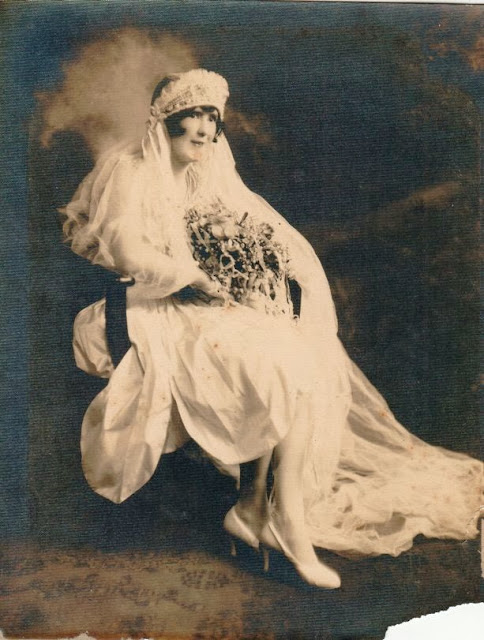 Unknown Bride about 1920