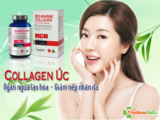 Viên uống dưỡng da collagen úc