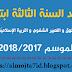 جديد مذكرات السنة الثالثة ابتدائي جانفي 2018/2017