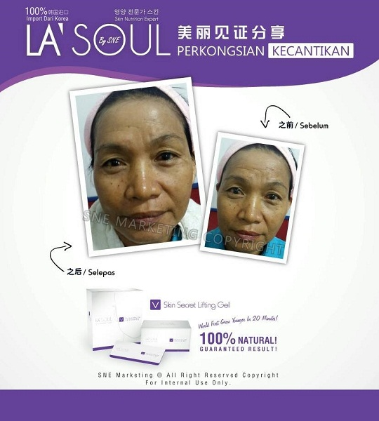 testimoni la' soul lifting gel 27
