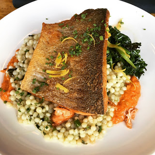 Rainbow Trout at Brothers Beer Bistro