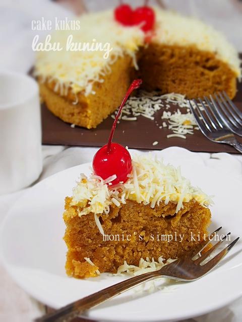 resep cake labu kuning keju