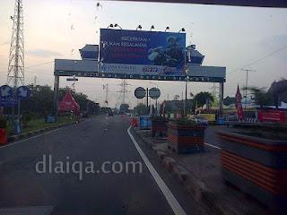 memasuki wilayah pelabuhan Merak, Banten