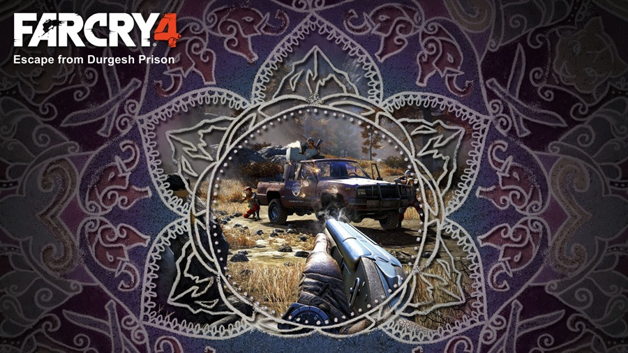 Far Cry 4 Escape from Durgesh Prison Poster