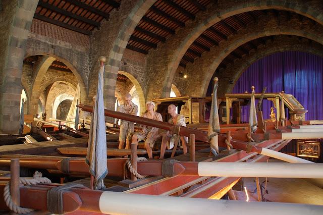 Museu Marítim em Barcelona