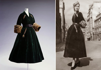9c654ef44a1391 △Les Femmes d artistes (et détails), James Tissot, 1883-1885. Chrysler  Museum, Norfolk sur le blog Histoire de l Art. △à g.   Robe Christian Dior  ...