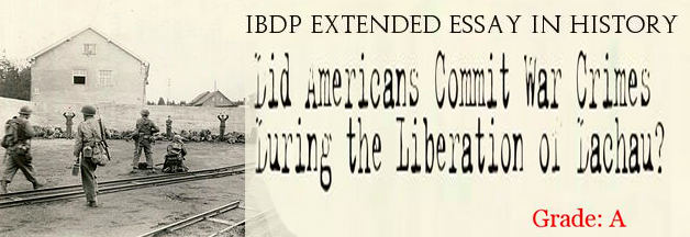 traces of evil dp history extended essays and internal  did united states iers commit war crimes during the liberation of dachau concentration camp 29th 1945