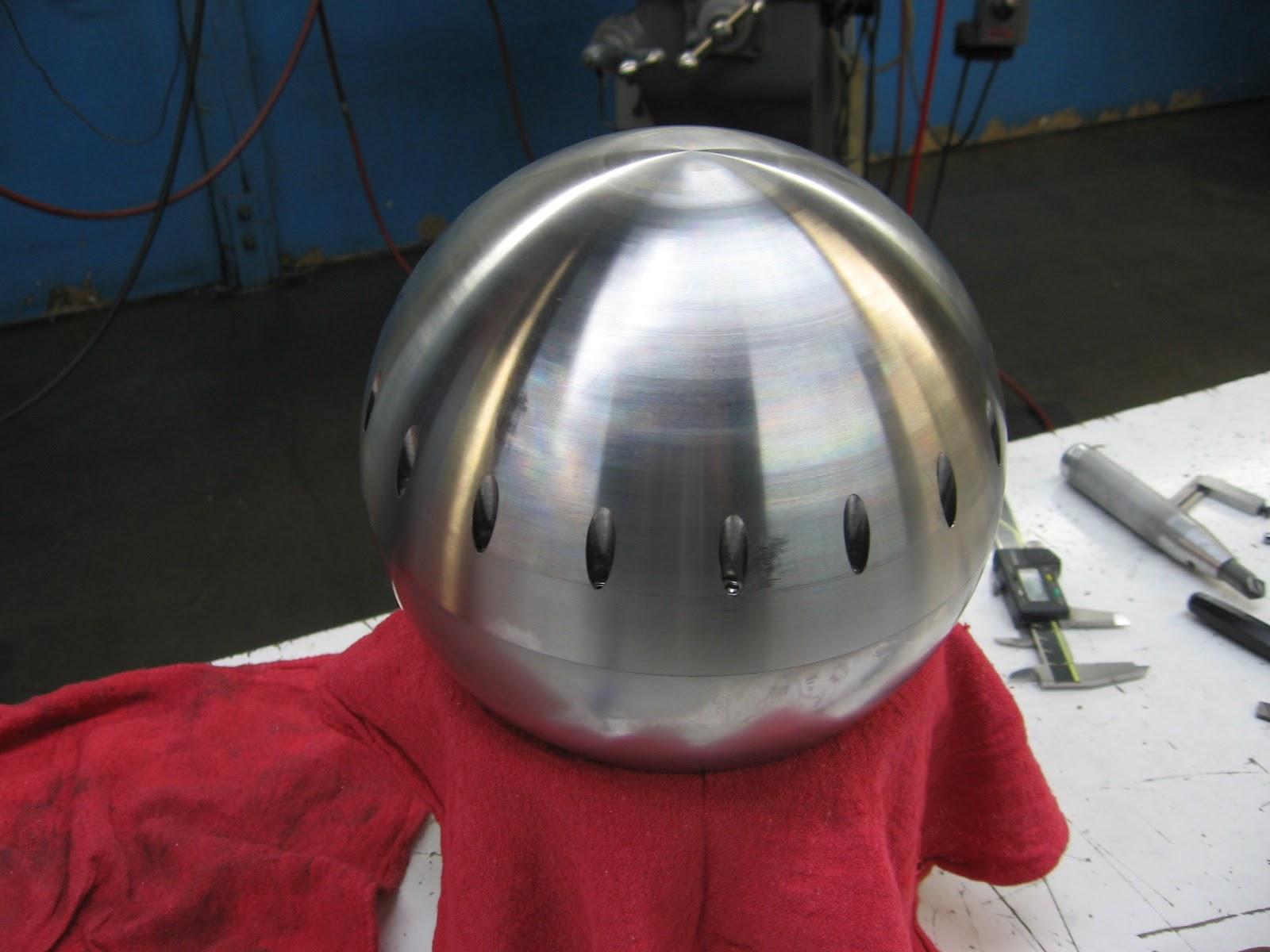 Quot Nothing Too Strong Ever Broke Quot Spherical Lathe Work 1