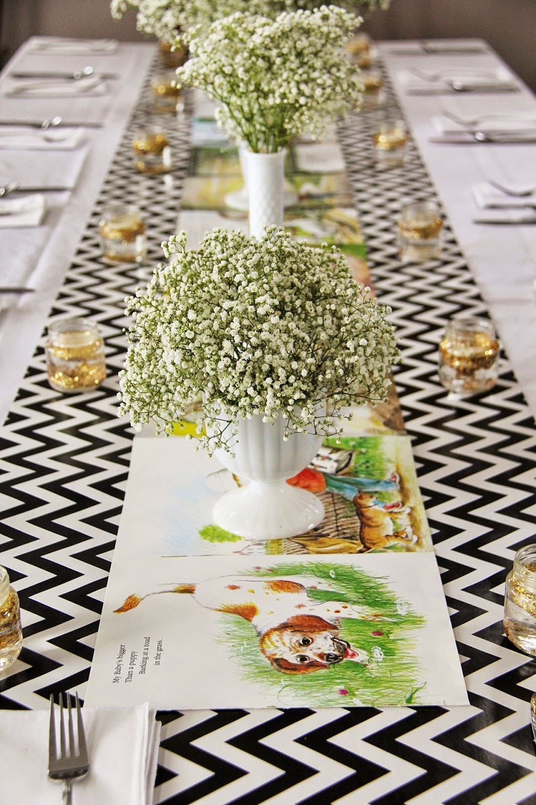 35 Trendy Baby Shower Theme Table Runners  Table