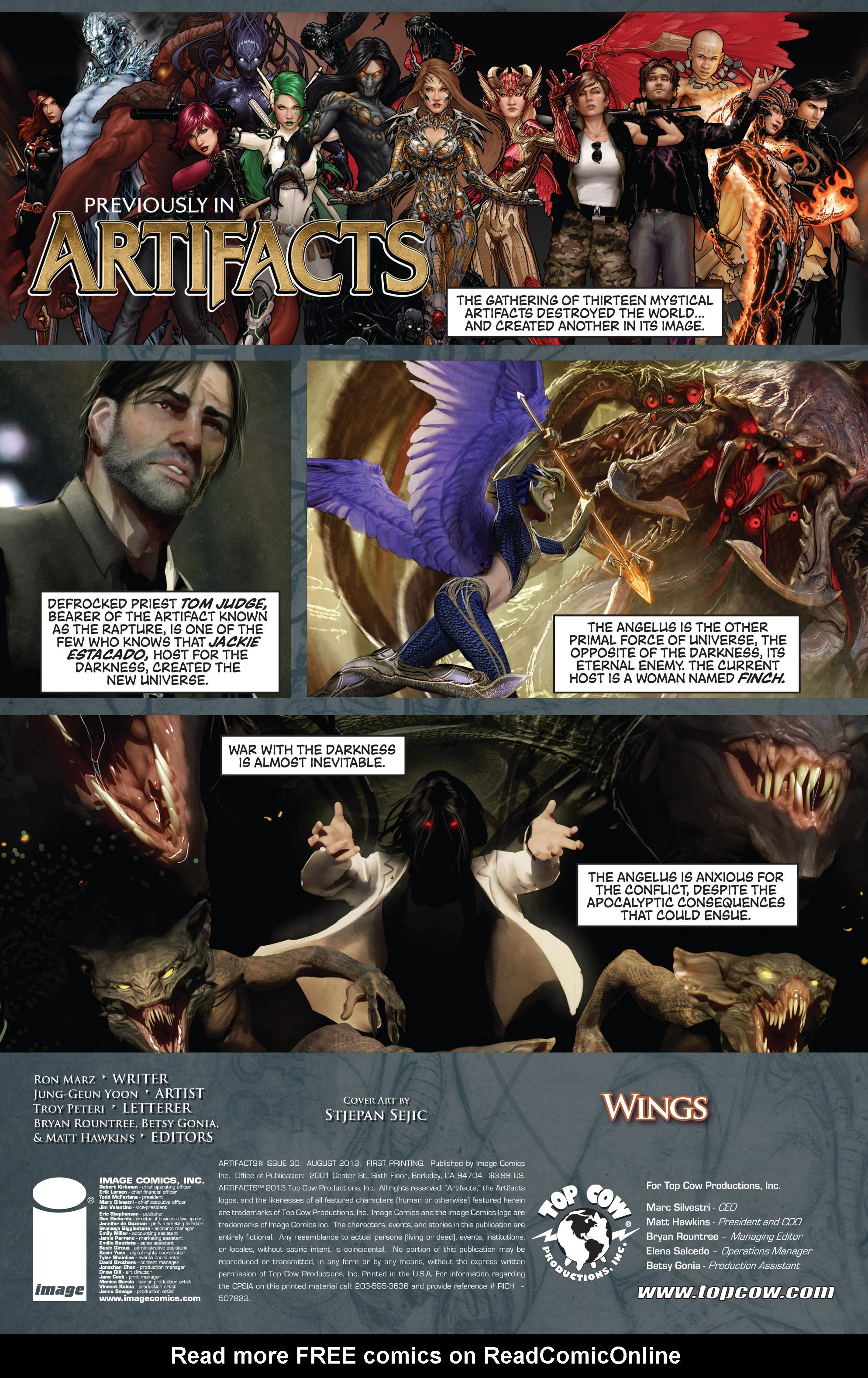 Read online Artifacts comic -  Issue #30 - 3