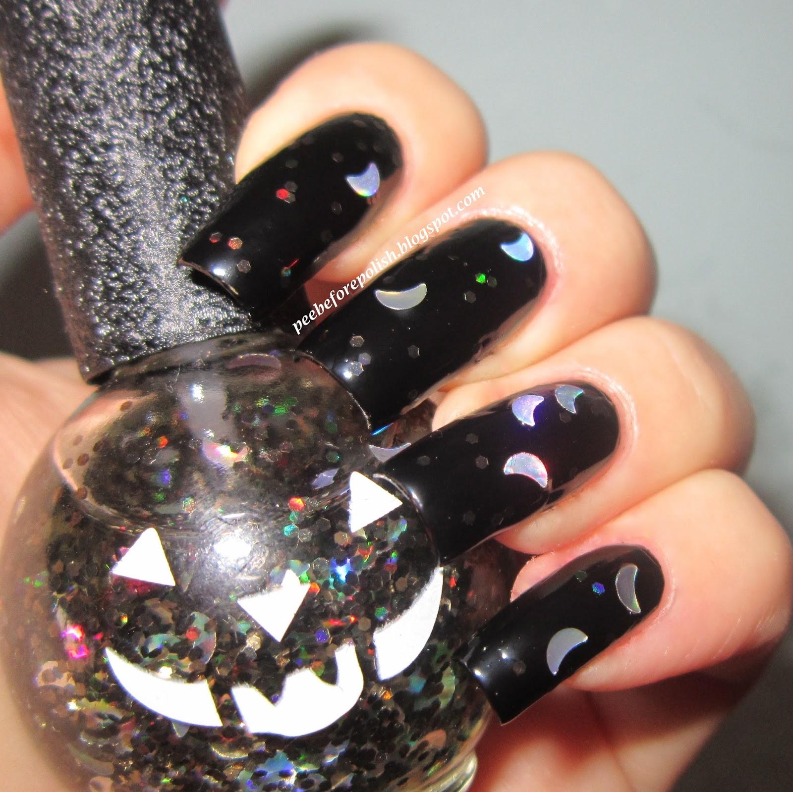Pee Before Polish: My Halloween Nails [Claw Polish ...