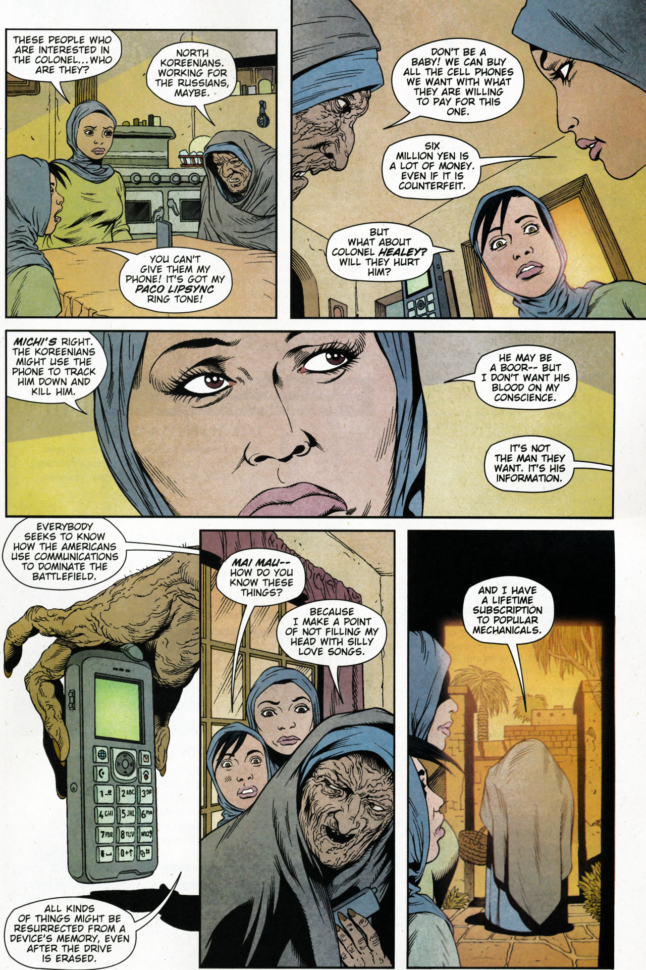 Read online Army @ Love comic -  Issue #4 - 22